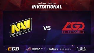 na vi vs lgd game 1 sl i league invitational day 3