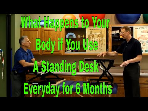 What Happens to Your Body If You Use A Standing Desk Everyday for 6 Months