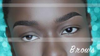 AMAZING! Updated EASY Eyebrow routine!