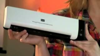 Scanner mobile HP Scanjet Professional 1000 - www.iris.ma