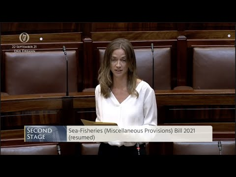 Dáil Debate on Sea Fisheries Miscellaneous Provisions Bill 2021 (resumed)