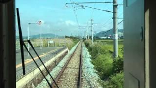 【前面展望】 JR東日本 奥羽本線(山形線) 山形⇒新庄 701系