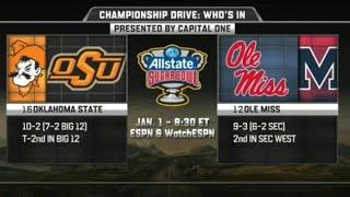 Oklahoma State vs Ole Miss - Sugar Bowl 2016