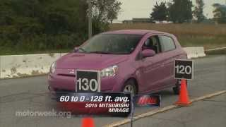 MotorWeek | Road Test: 2015 Mitsubishi Mirage