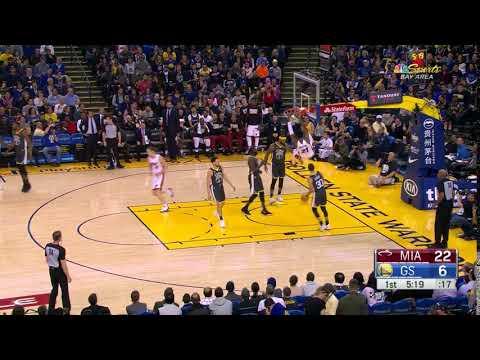 1st Quarter, One Box Video: Golden State Warriors vs. Miami Heat