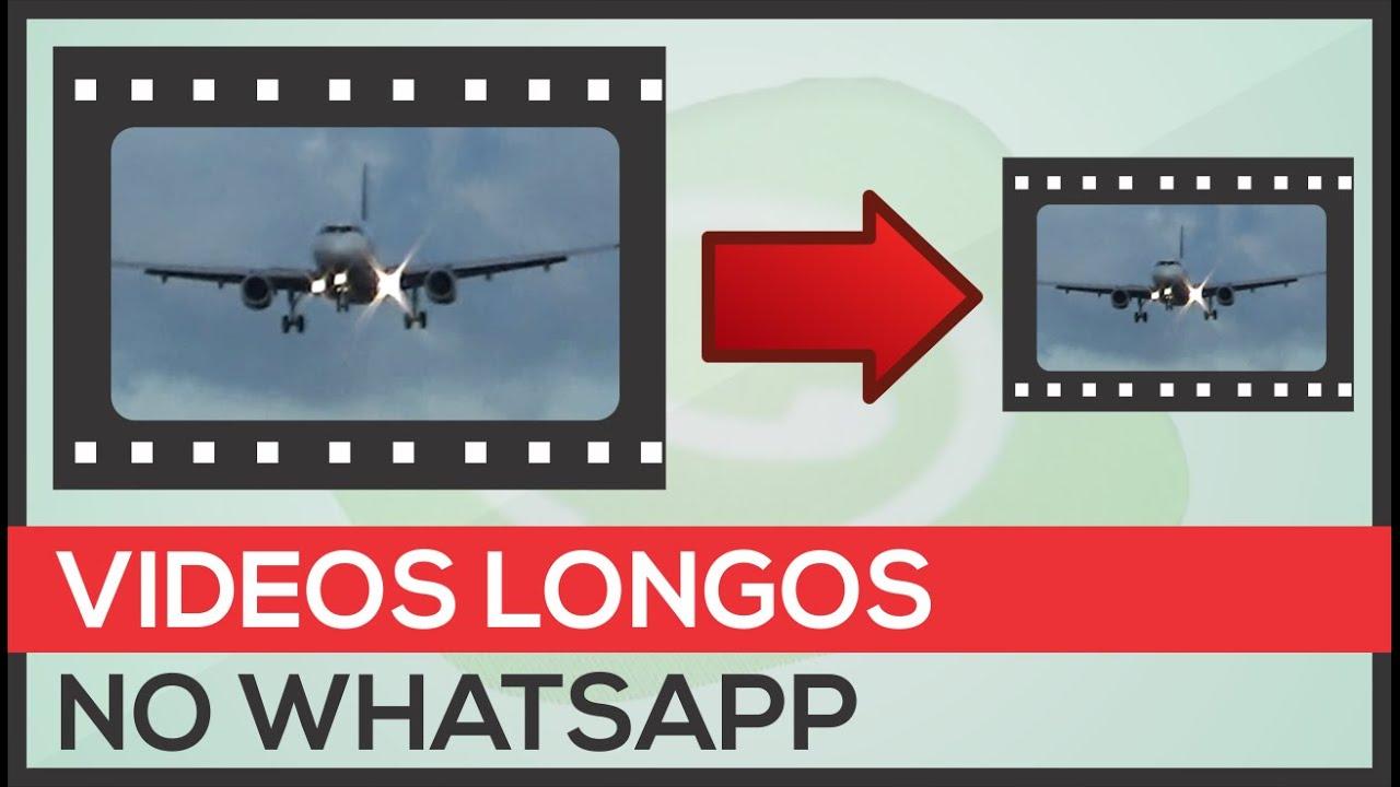 como enviar videos longos pelo whatsapp iphone