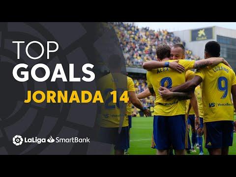 Todos Los Goles De La Jornada 14 De LaLiga SmartBank 2019/2020