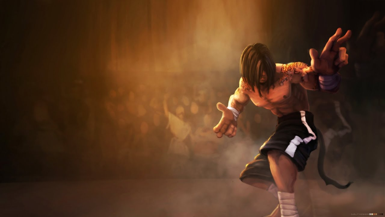 Lol Wallpapers Hd 1980x1080 League Of Legends Traditional Lee Sin Ultimate Luck