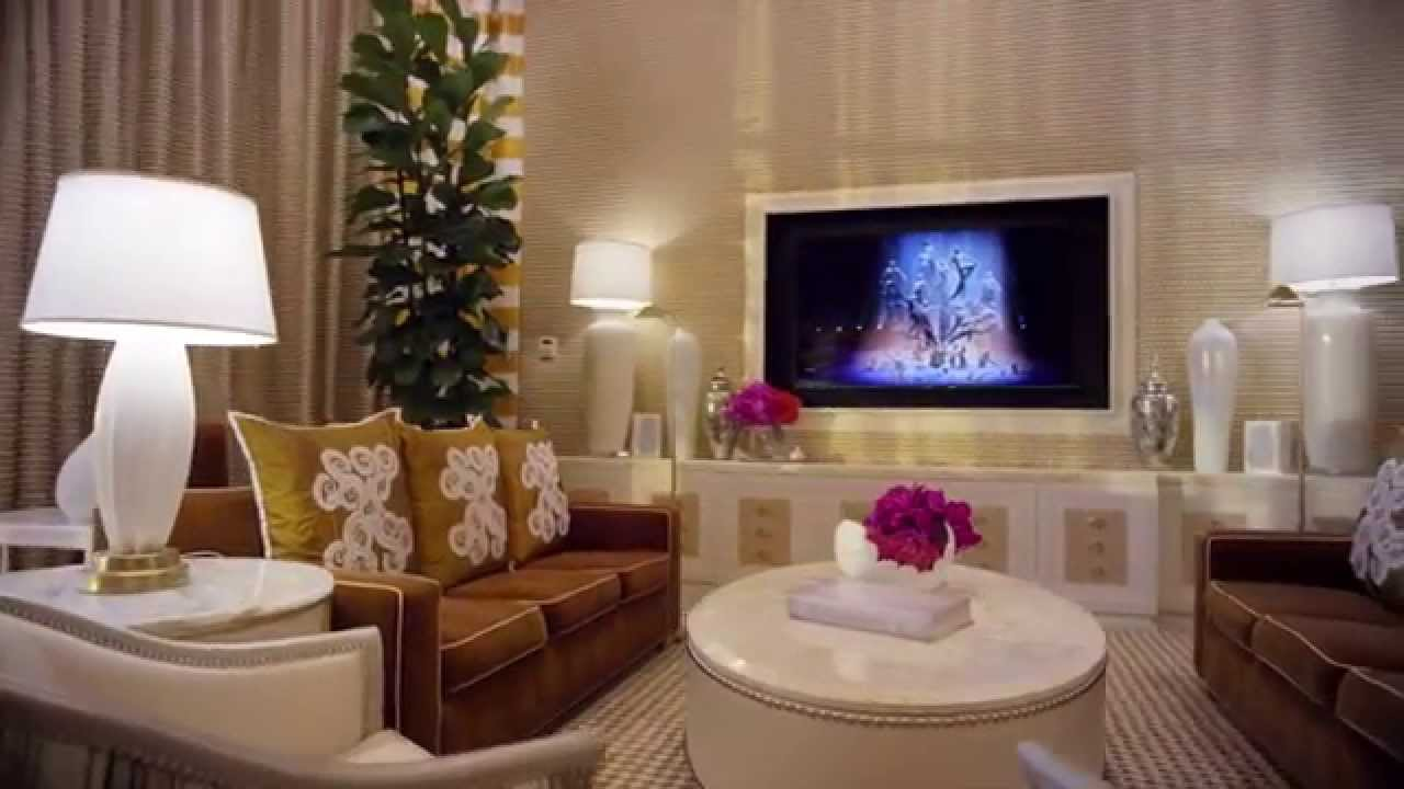 Wynn Tower Suite Fairway Villa Encore Tower Suite Three Bedroom Duplex Youtube