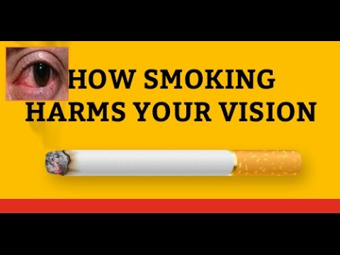 How Smoking Harms Your Vision
