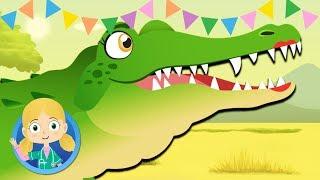 Dalia The Crocodile, the Cheetah and Zebra | Dr Poppy on Safari | Animal Cartoons for Children