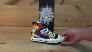 Converse All Stars Chuck Taylor Superman Shoes