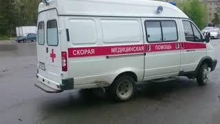 Авария на перекрестке Ленина-Суворова в Бердске