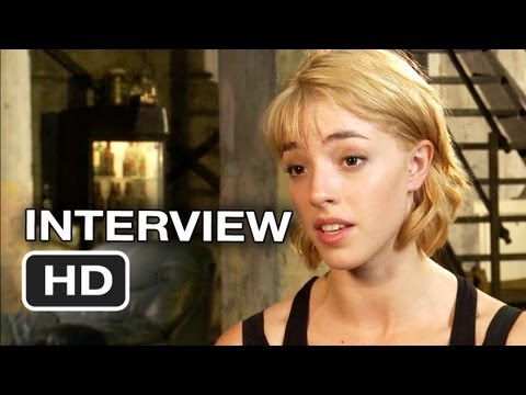 Dredd Interview - Olivia Thirlby (2012) - HD Movie