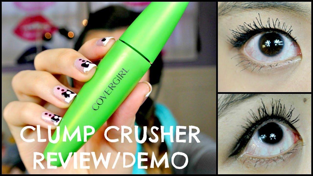 314a1cb6538 MMM}: CoverGirl CLUMP CRUSHER MASCARA Review/Demo!! - YouTube