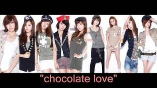 [mp3 dl]snsd chocolate love