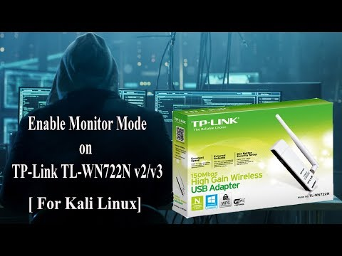 How To Install And Enable Monitor Mode On TP-Link TL-WN722N V2/v3 [ Kali Linux ]
