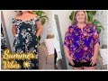 SUMMER VIBES! | PLUS SIZE STITCH FIX TRY-ON HAUL & REVIEW | Taren Denise