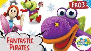 DIBO Sing Along   Fantastic Pirates   Learning Songs   Preschool Cartoon Songs   Learning For Kids