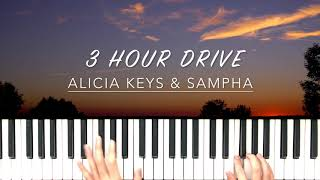 Alicia Keys - 3 Hour Drive (Feat. Sampha) Piano Cover