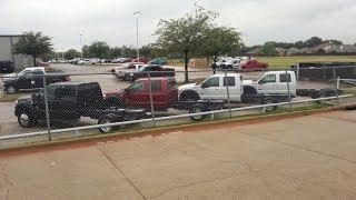 New 2014 Ford F550 Chassis Ready For Custom Laredo Hauler Bed