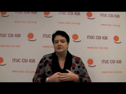 Union Views: Sharan Burrow, ITUC President (ACTU Australia)