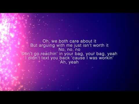 Khalid - My Bad   Lyrics on Screen