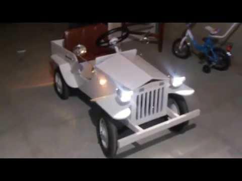 видео: Детский электромобиль своими руками