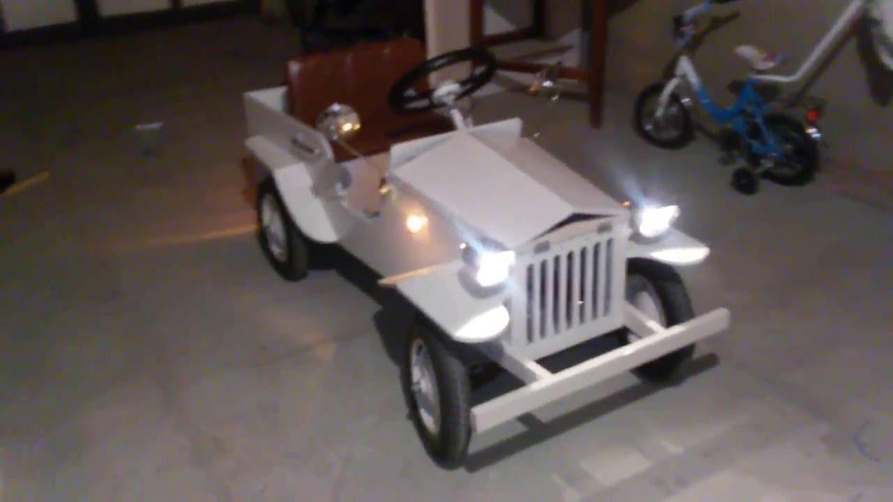 Детский электромобиль своими 47