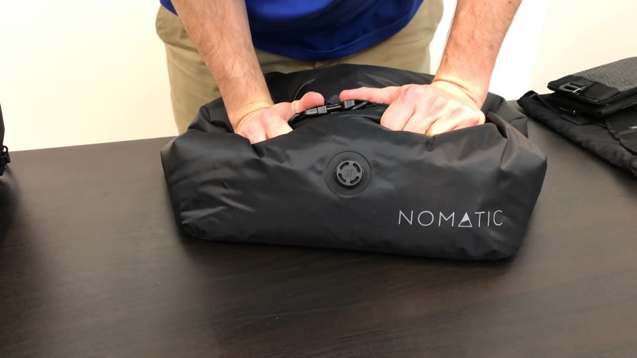 The NOMATIC Travel Bag How To Use
