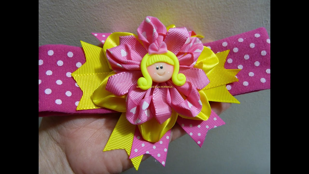 Mo os y flores en cinta para decorar accesorios para el - Accesorios para decorar ...