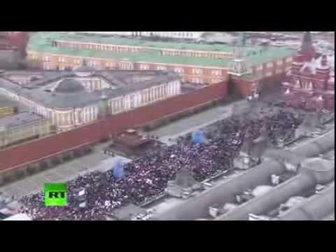 Красная площадь. Концерт, посвященный присоединению Крыма