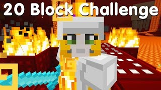 Minecraft PS4 - 20 Block Challenge - Return To Sender (26)