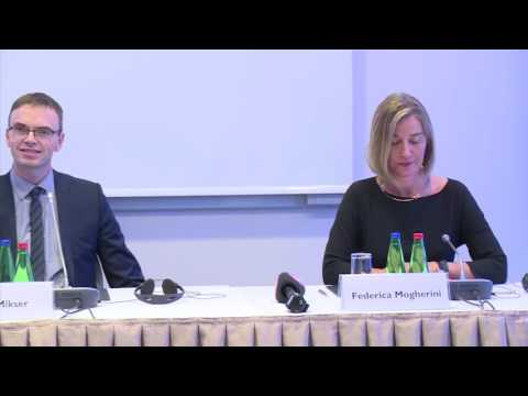 Joint press conference-Tallin