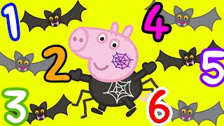 Peppa Pig 👻 Peppa Pig Halloween Special - Learn Spelling with Peppa Pig | Spelling for Kids