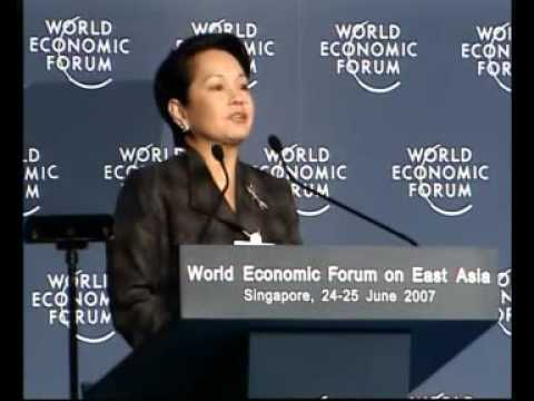 East Asia 2007 - Where Is Leadership Needed the Most in Asia? (Gloria Arroyo)