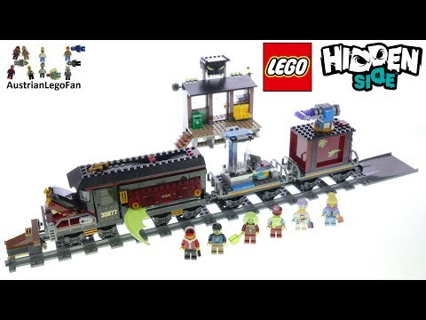 Lego Hidden Side 70424 Ghost Train Express Speed Build