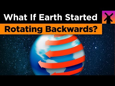 Maddox - What If The Earth Started Rotating Backwards Right Now?