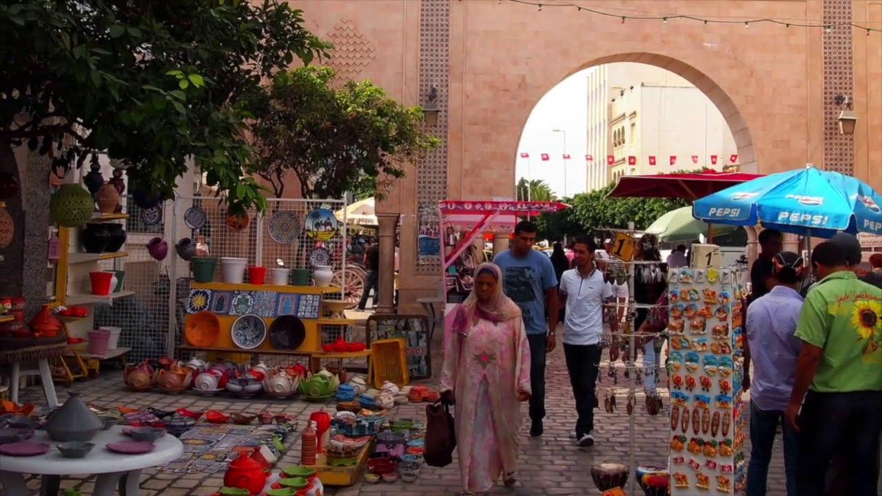 世界の路地写真 チュニジア
