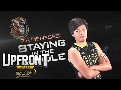 Ria Meneses   Upfront at the UAAP