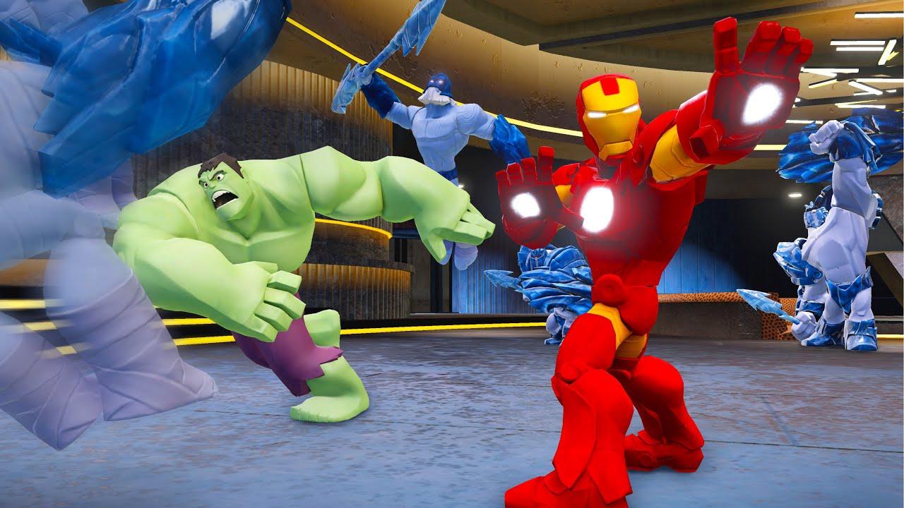 LOS VENGADORES IRON MAN DISNEY INFINITY 2.0 Videos de Juegos para ...