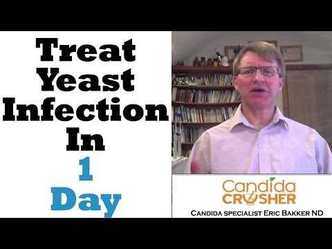 """How To """"CURE"""" Your Yeast Infection In ONE DAY"""