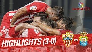 Resumen de UD Almería vs UD Las Palmas (3-0)