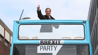 Onboard the Brexit bus: The inside story of how Farage won at the European Parliament elections