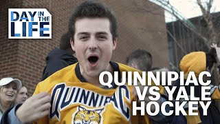 Quinnipiac Day in the Life: Quinnipiac vs Yale Men's Hockey Game