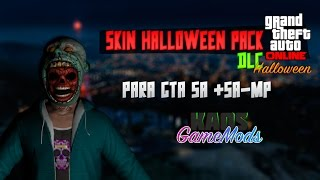 Skin Halloween Pack   DLC Halloween GTA V   SA-MP & GTA  SA