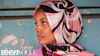 Model Halima Aden Returns to the Refugee Camp She was Born In   Teen Vogue thumbnail