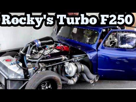 Rocky's Turbo F250 Truck at Bounty Hunters No Prep
