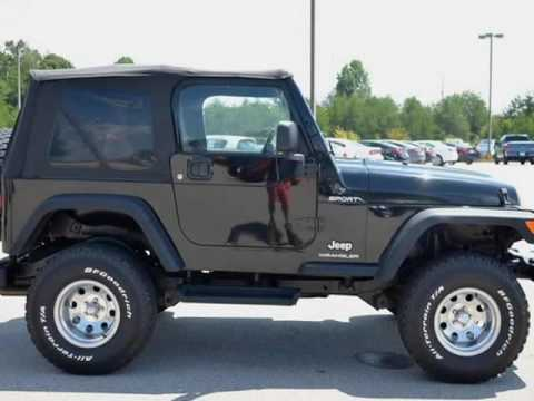 2003 JEEP WRANGLER SPORT AUTOMATIC LIFTED VERY SHARP (Cleveland, Georgia)