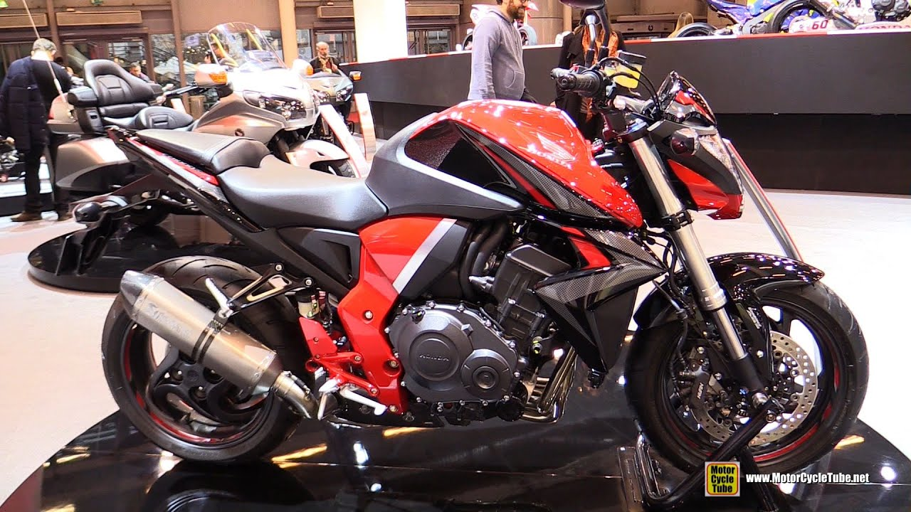 2016 honda cb1000r walkaround 2015 salon de la moto. Black Bedroom Furniture Sets. Home Design Ideas
